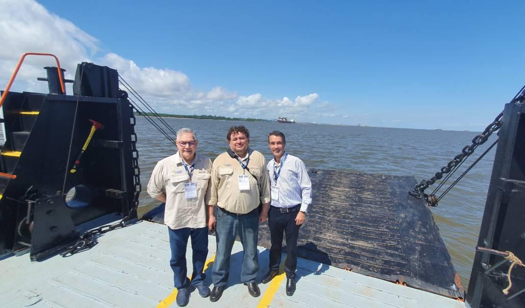 Arionor Souza, João Bosco e Adonis dos Santos
