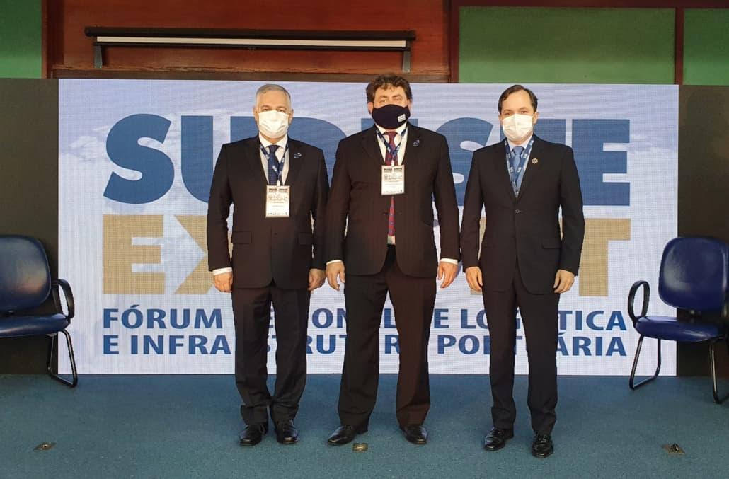 Arionor Souza, João Bosco e Alexandre Canhetti