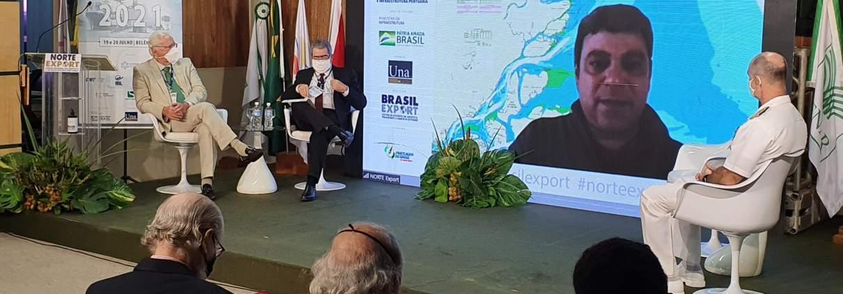 Leandro Caiaffa durante a apresentação